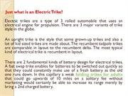 Just what is an Electric Trike