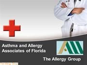 Asthma & Allergy Associates of Florida - The Allergy Group
