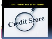 Credit Scoring with Brian Linnekens