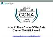 Cisco CCNA Data Center 200-155 Practice Test
