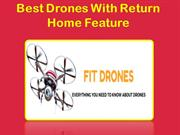 Best Drones With Return Home Feature