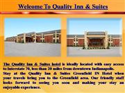 Quality Inn and Suites Greenfield IN