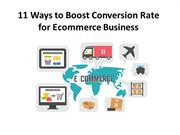 11 Ways to Boost Conversion Rate for Ecommerce