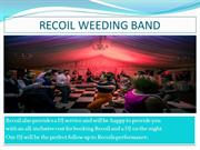 Best Wedding band  Ireland - Recoil Wedding Band
