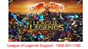 League of Legends Support Number - 1888-501-1186 | Games Support