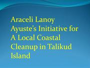 Araceli Lanoy Ayuste's Initiative for A Local Coastal Cleanup in Talik