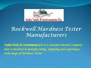Rockwell-Hardness-Tester-Manufacturers