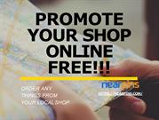 Promote your shop online Free_
