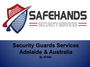 Security Guards Services | Hire Security Guards - SFHSS