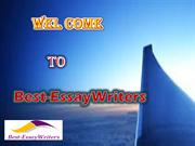 Best-EssayWriters - Proffesional  Academic Writing Service Provider