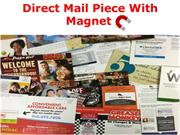 Direct Mail Piece With Magnet