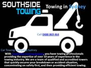 Southside Towing Sydney – Emergency Tilt Tray Tow Services