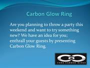 Get Stylish Carbon Fiber Glow Ring  Core Carbon Rings