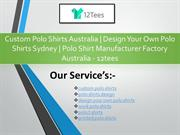 Custom Polo Shirts Australia  Design Your Own Polo Shirts Sydney Polo