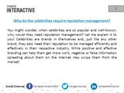 SynapseInteractive Celebrity Reputation Management Services