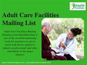 Adult Care Facilities Mailing List