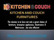 Kitchen And Couch Furnitures
