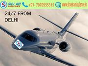 Hire Low Fare Air Ambulance Service in Delhi by Sky Air Ambulance