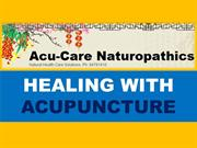 Turn to Holistic Healing with Acupuncture services in Belmont