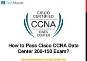 Cisco CCNA Data Center 200-150 Practice Test Questions Answers