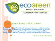 EcoGreen Energy Solutions | Energy Project Development