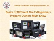 Basics of Different Fire Extinguishers Property Owners Must Know