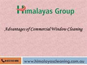 Advantages of Commercial Window Cleaning