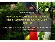 Finger Food Menu  Bar & Restaurant in Cork City Soho-1 (5 files merged