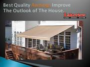 Buy Best Quality Awnings