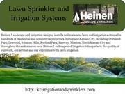 WHAT IS Lawn Sprinkler and Irrigation Systems