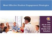 Most Effective Student Engagement Strategies