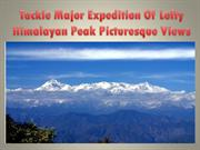 Tackle Major Expedition Of Lofty Himalayan Peak Picturesque Views