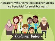 4 Reasons Why Animated Explainer Videos are beneficial