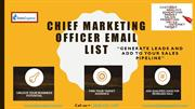 CMO Email List | CMO Mailing List | CMO Email Database