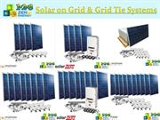 Solar on Grid & Grid Tie Systems