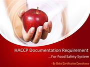 Guide to complete HACCP Documentation