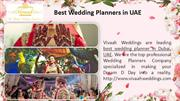 Wedding Event Management Company Dubai