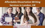 Affordable Dissertation Writing Services in London, UK