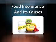 Food Intolerance And Its Causes