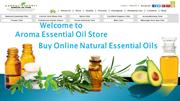 Buy Online Natural Essential Oils at Aroma Essential Oil Store