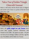 Take a Tour of Golden Triangle Cities with Varanasi