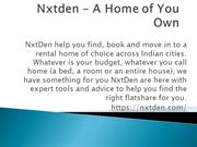 NxtDen- Home Rent Services
