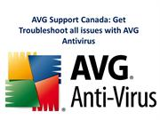 AVG Support Canada troubleshoot issues