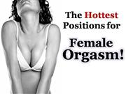 The Hottest Positions for Female Orgasm