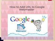 How to Add URL to Google Webmaster | Google Chat Support