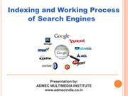 Indexing and working process of search engine