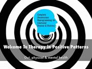 Therapy in Positive Patterns Presentation