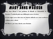 Mary Anne Warren 10C.ppt