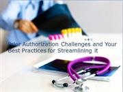Checks and Balances with Proactive Prior Authorization Support