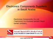 Electronics Components Suppliers  in Saudi Arabia